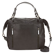 Buy Mint Velvet Kirsten Le Slouch Leather Tote Bag, Charcoal Online at johnlewis.com