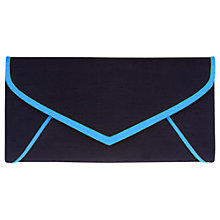 Buy Jacques Vert Overlay Clutch Bag, Multi Blue Online at johnlewis.com