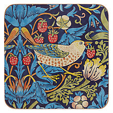 Buy Pimpernel Strawberry Thief Coasters, Set of 6 Online at johnlewis.com