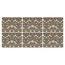 Buy Pimpernel Strawberry Thief Placemats, Set of 6 Online at johnlewis.com