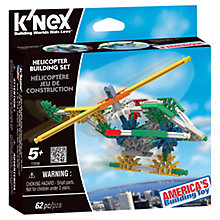 Buy K'Nex Helicopter Building Set Online at johnlewis.com