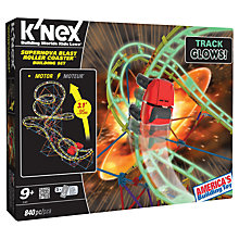 Buy K'Nex Supernova Blast Roller Coaster Building Set Online at johnlewis.com