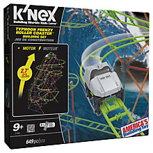 Buy K'NEX Typhoon Frenzy Roller Coaster Building Set Online at johnlewis.com