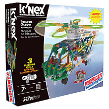 Buy K'NEX Transport Chopper Building Set Online at johnlewis.com