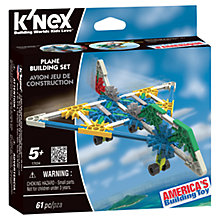 Buy K'NEX Plane Building Set Online at johnlewis.com