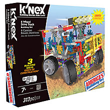 Buy K'Nex 4-Wheel Drive Truck Building Set Online at johnlewis.com