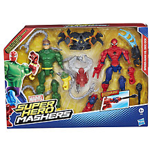 Buy Marvel Super Hero Mashers Battle Packs, Assorted Online at johnlewis.com