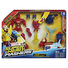 Buy Marvel Super Hero Mashers Battle Figures, Assorted Online at johnlewis.com