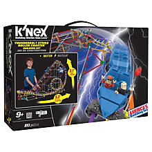 Buy K'NEX Thunderbolt Strike Roller Coaster Building Set Online at johnlewis.com