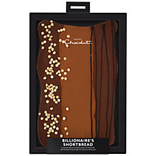 Buy Hotel Chocolat Billionaire's Shortbread Slab, 500g Online at johnlewis.com