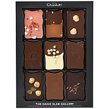 Buy Hotel Chocolat The Nano Slab Gallery, 160g Online at johnlewis.com