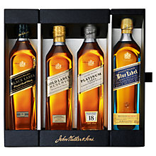 Buy Johnnie Walker Whisky Collection, 20cl Online at johnlewis.com