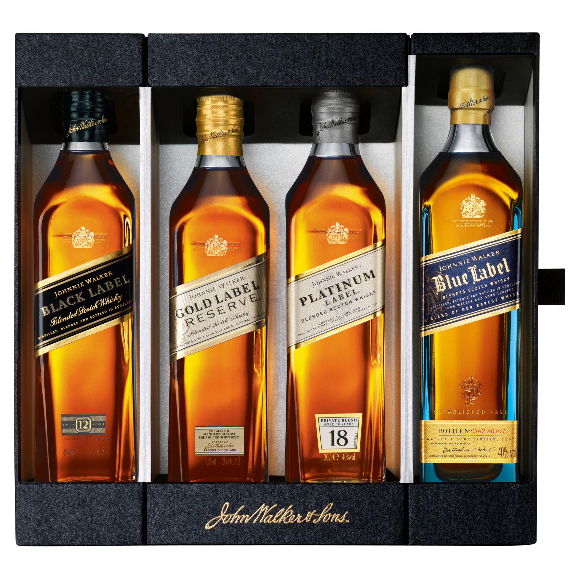 Johnnie Walker Johnnie Walker Whisky Collection, 20cl