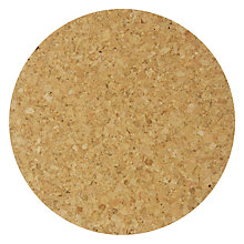 Buy House by John Lewis Cork Coasters, Set of 4 Online at johnlewis.com