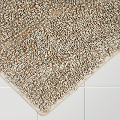 John Lewis Croft Collection Linen Mix Tufted Bath Mat