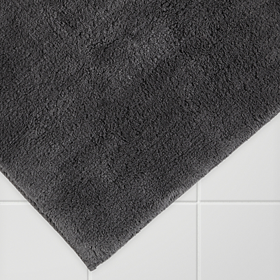 John Lewis Supreme Reversible Bath Mat, Extra Large, Latte