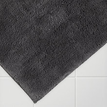 Buy John Lewis Supreme Reversible Bath Mat, Extra Large, Latte Online at johnlewis.com