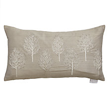 Buy Voyage Astrid Cushion, Platinum Online at johnlewis.com