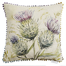Buy Voyage Thistle Glen Cushion Online at johnlewis.com
