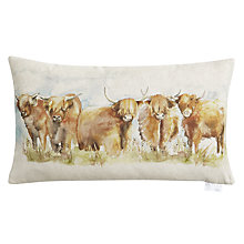 Buy Voyage Highland Cattle Cushion Online at johnlewis.com