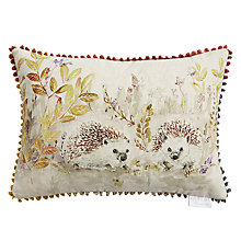 Buy Voyage Mr & Mrs Hedgehog Cushion Online at johnlewis.com