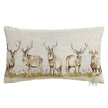 Buy Voyage Moorland Stag Cushion Online at johnlewis.com