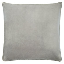 Buy John Lewis Velvet and Linen Cushion Online at johnlewis.com