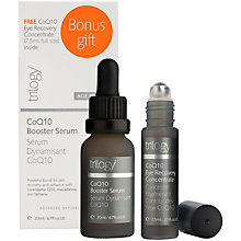 Buy Trilogy Age Proof CoQ10 Booster Serum, 20ml + CoQ10 Eye Recovery Concentrate, 7.5ml Online at johnlewis.com