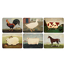 Buy Jason Products Animal Collection Placemats, Set of 6 Online at johnlewis.com
