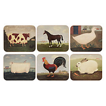 Buy Jason Products Animal Collection Coasters, Set of 6 Online at johnlewis.com