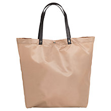 Buy Mango Nylon Saffiano Effect Shopper Bag Online at johnlewis.com