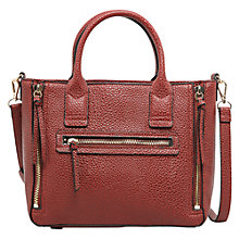 Buy Mango Small Pebbled Tote Bag Online at johnlewis.com