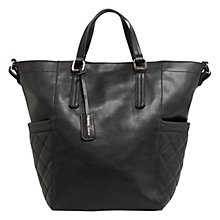 Buy Mango Chain Shopper Bag, Black Online at johnlewis.com