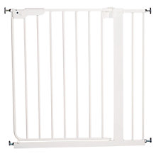 Buy BabyDan Danamic Deluxe Pressure Gate, White Online at johnlewis.com