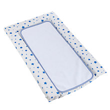 Buy John Lewis Blue Star Changing Mat & Liner Online at johnlewis.com