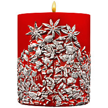 Buy Acqua di Parma Silver Gems Candle, Red / Silver Online at johnlewis.com