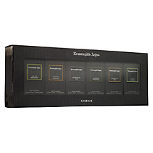 Buy Ermenegildo Zegna Essenze Eau de Toilette Collection, 6 x 30ml Online at johnlewis.com