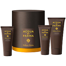 Buy Acqua di Parma Collezione Barbiere Shaving Gift Set Online at johnlewis.com