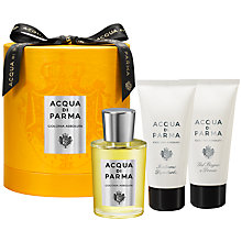 Buy Acqua di Parma Assoluta Eau de Cologne Fragrance Gift Set, 100ml Online at johnlewis.com
