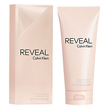 Buy Calvin Klein Reveal Shower Gel, 200ml Online at johnlewis.com