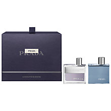 Buy Prada Amber Homme Eau de Toilette Gift Set Online at johnlewis.com