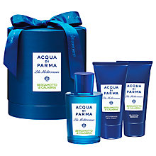 Buy Acqua di Parma Bergamotto Calabria Gift Set Online at johnlewis.com