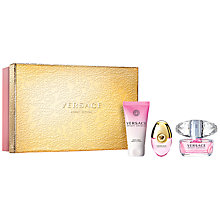 Buy Versace Bright Crystal Gift Set Online at johnlewis.com