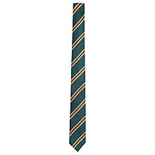 Buy Ben Sherman Tailoring Regimental Stripe Tie, Green/Yellow Online at johnlewis.com