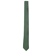 Buy Ben Sherman Dot Twill Tie, Green Online at johnlewis.com