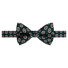 Buy Ben Sherman Floral Print Bow Tie, Pine Grove Online at johnlewis.com