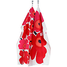 Buy Marimekko Unikko Tea Towel, Set of 2 Online at johnlewis.com