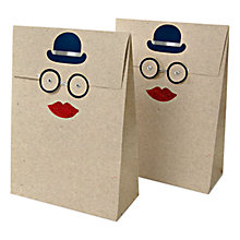 Buy Meri Meri All Wrapped Up Bowler Hat Gift Bags, Pack of 2 Online at johnlewis.com