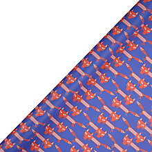 Buy John Lewis Crafty Fox Gift Wrap, 3m Online at johnlewis.com