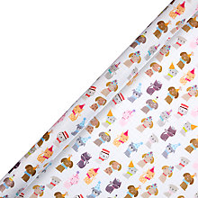Buy John Lewis Cats and Dogs Gift Wrap, 3m Online at johnlewis.com